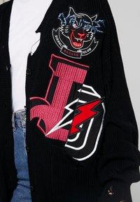 Diesel - M-JENNY CARDIGAN - Kardigan - black - 4