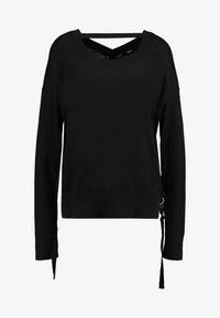 Diesel - PERLA - Stickad tröja - black - 5