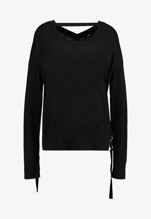 PERLA - Strikpullover /Striktrøjer - black
