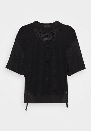 ROSSI - T-shirt basic - black