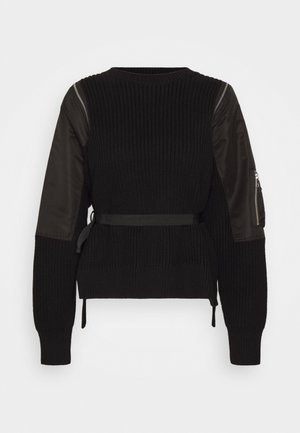M-CLARE KNITWEAR - Pullover - black