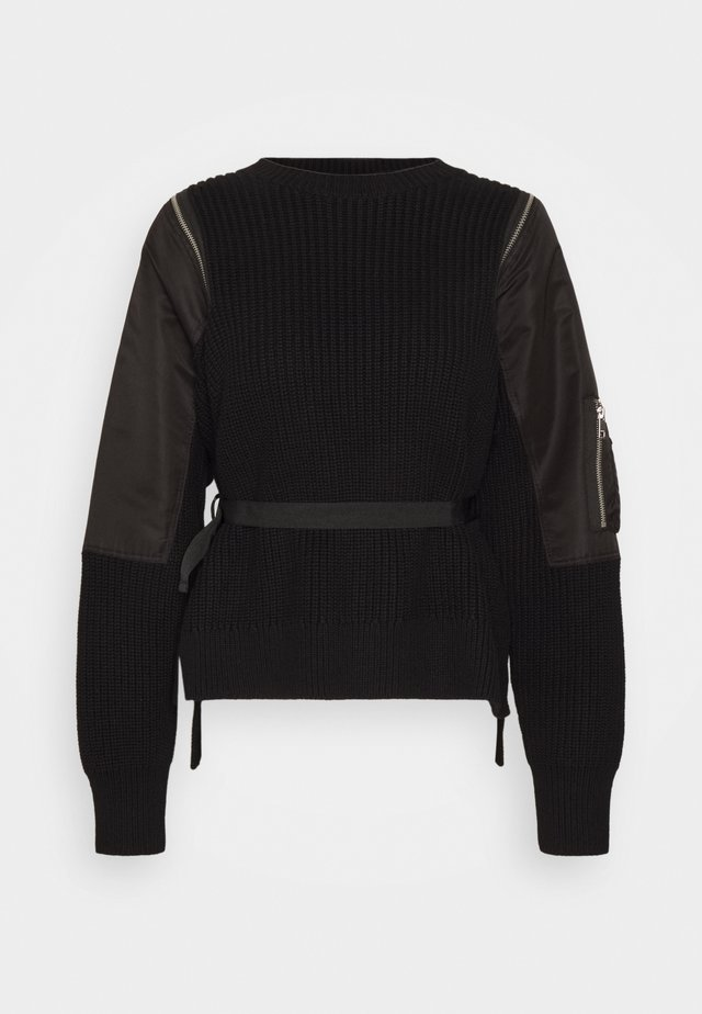 M-CLARE KNITWEAR - Jumper - black