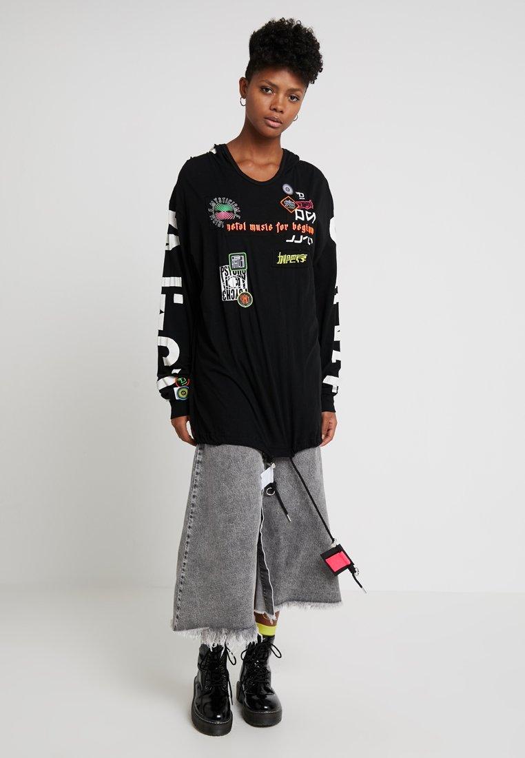 Diesel - T ESTEL - T-shirt à manches longues - black