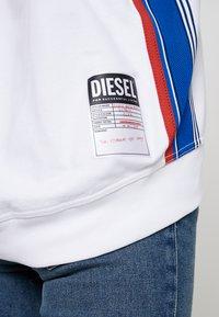 Diesel - F-LYANYDY SWEAT-SHIRT - Mikina - white - 5