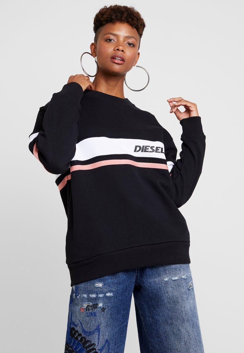 Diesel - UFLT-PHYLO FELPA - Sweatshirt - black
