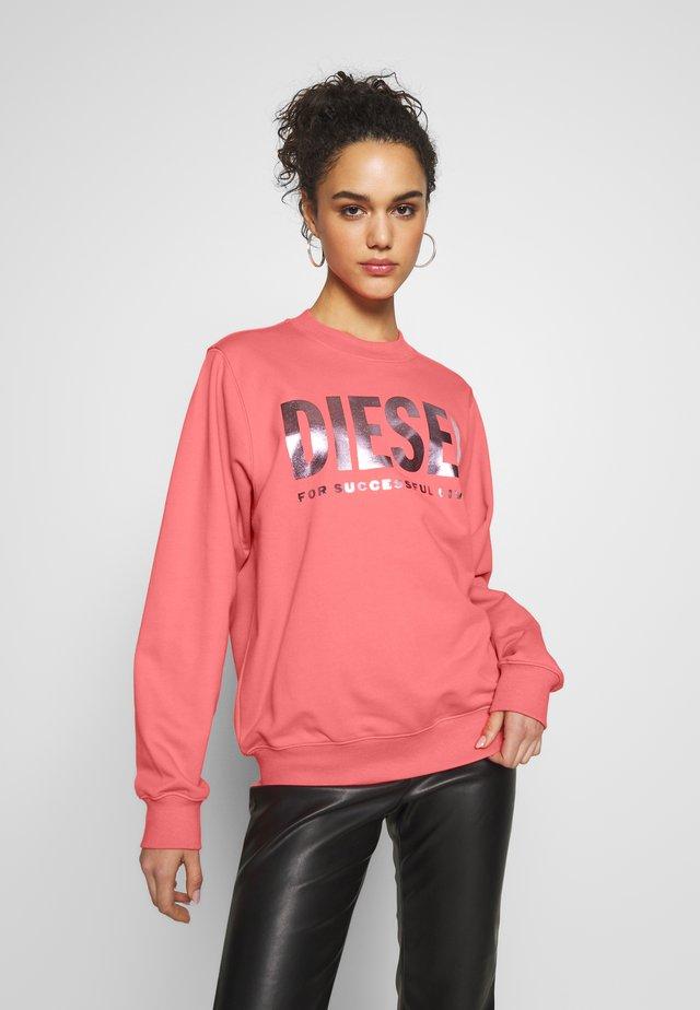 F-ANG SWEAT-SHIRT - Collegepaita - pink