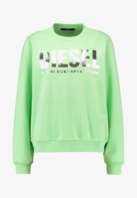 Diesel - F-ANG SWEAT-SHIRT - Sweatshirt - green - 4