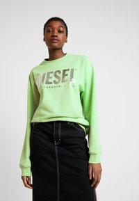 Diesel - F-ANG SWEAT-SHIRT - Sweatshirt - green - 0