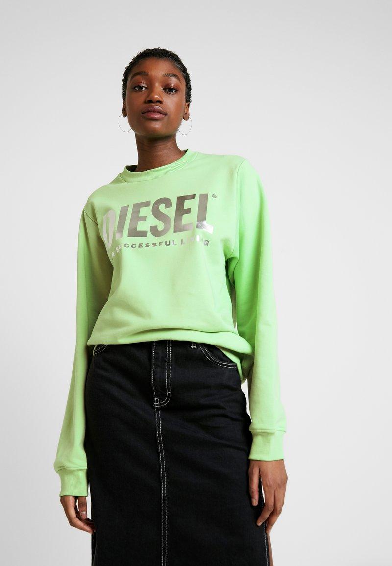 Diesel - F-ANG SWEAT-SHIRT - Sweatshirt - green