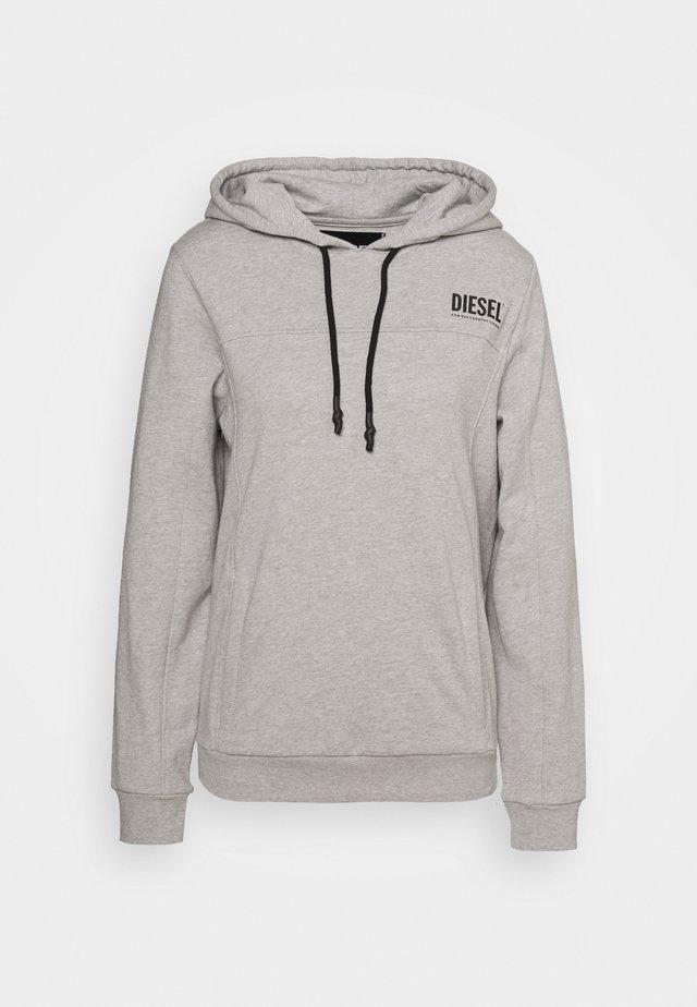 UFLT-VICTADIAL-H - Bluza z kapturem - grey