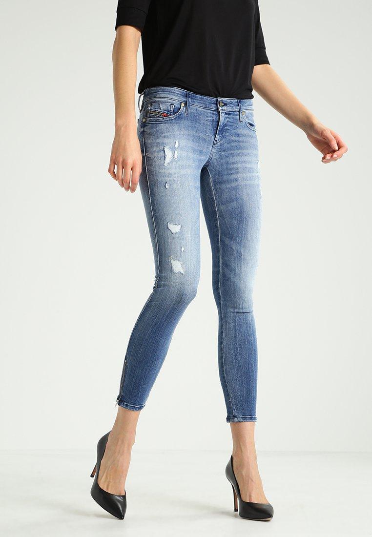 Diesel - SKINZEE-LOW-ZIP  - Jeans Skinny Fit - 0847u