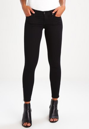 SKINZEE LOW ZIP   - Skinny džíny - black denim