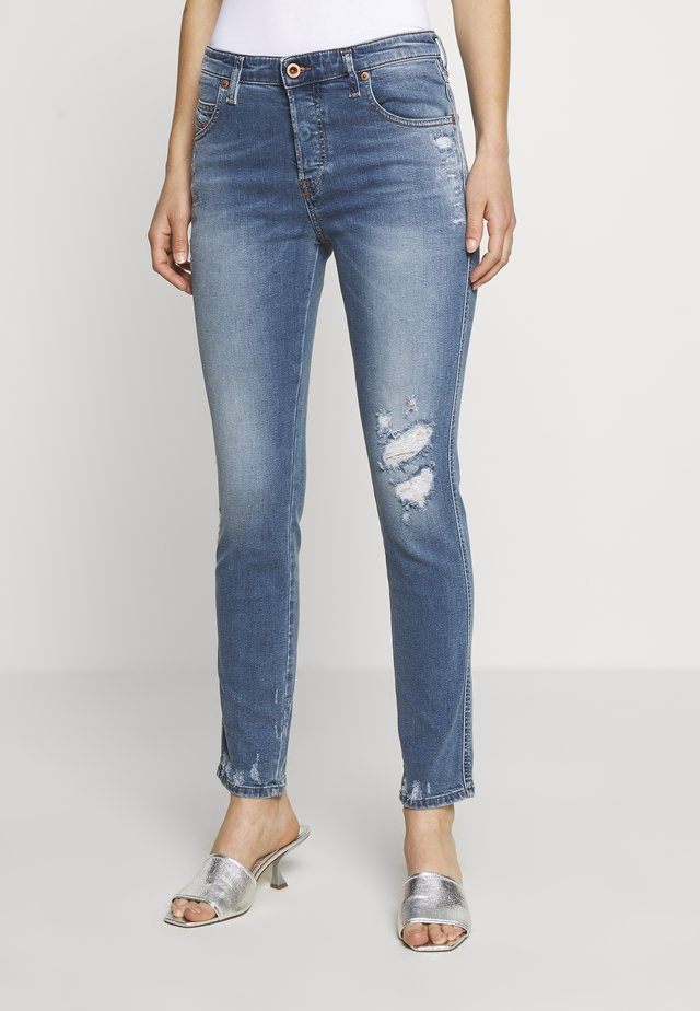 BABHILA   - Slim fit jeans - blue denim
