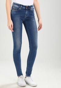 Diesel - SLANDY   - Jeans Skinny Fit - indigo - 0