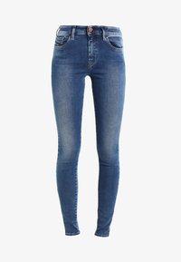 Diesel - SLANDY   - Jeans Skinny Fit - indigo - 5