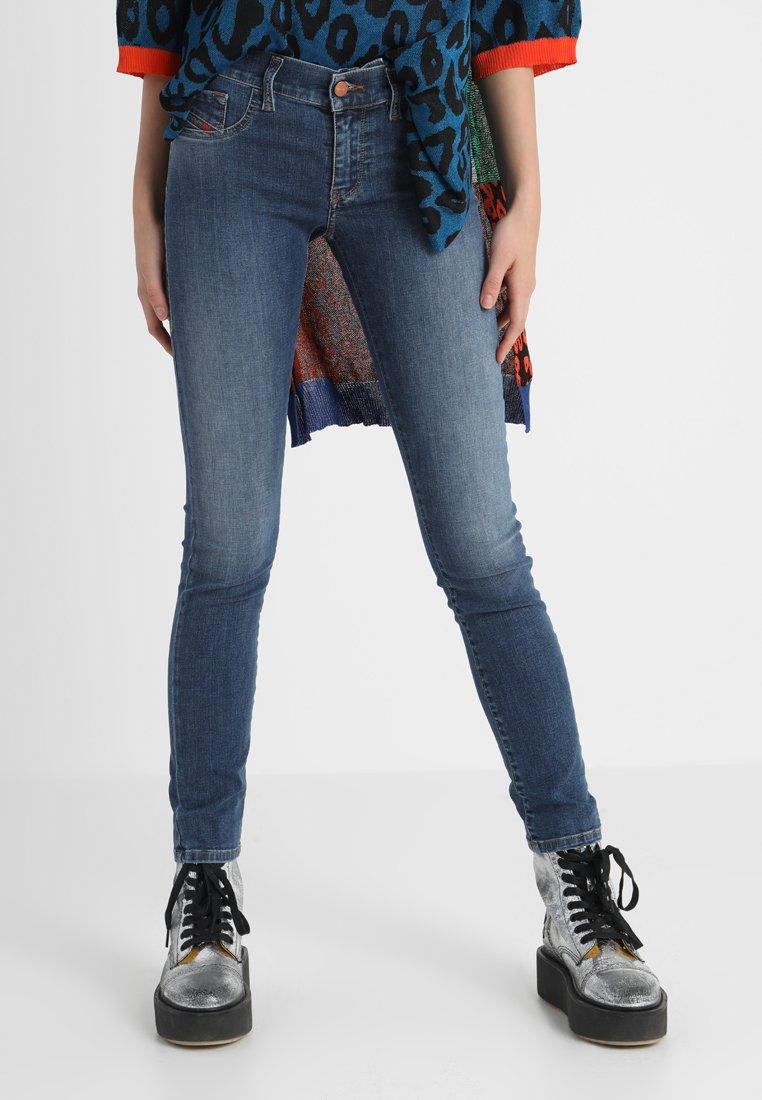 Diesel - LIVIER-S - Jeans Slim Fit - indigo