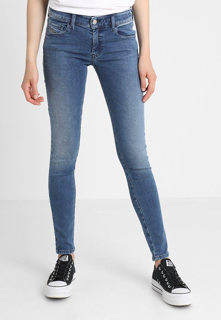 Diesel - SLANDY-LOW - Jeans Skinny Fit - indigo