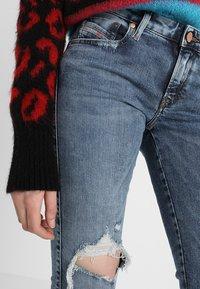 Diesel - GRACEY - Jeans Skinny Fit - indigo - 4