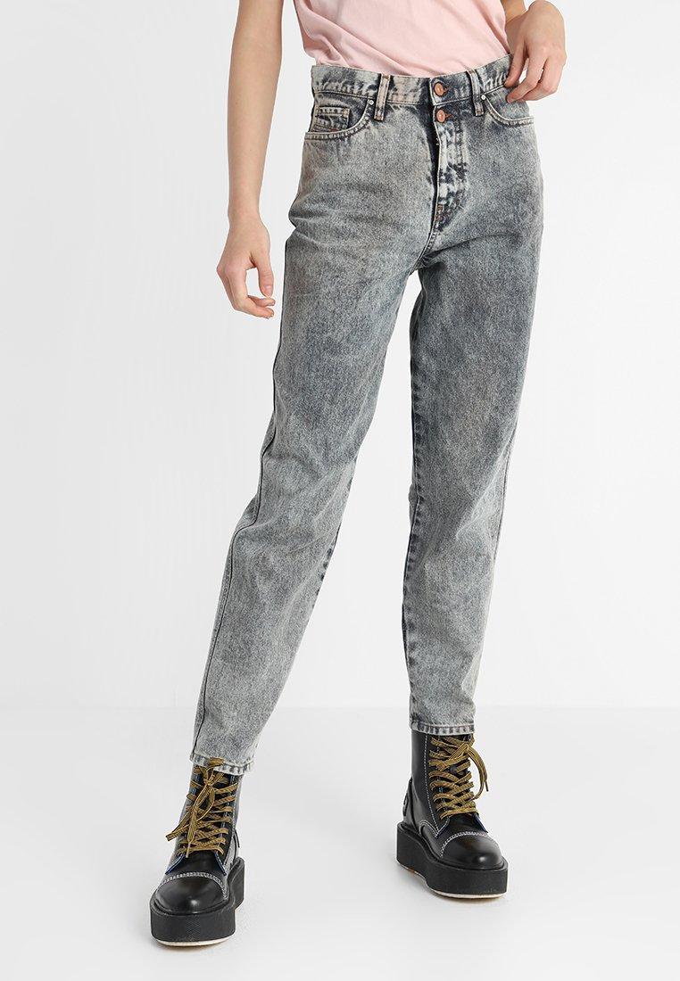 Diesel - ALYS - Jeans Straight Leg - grau