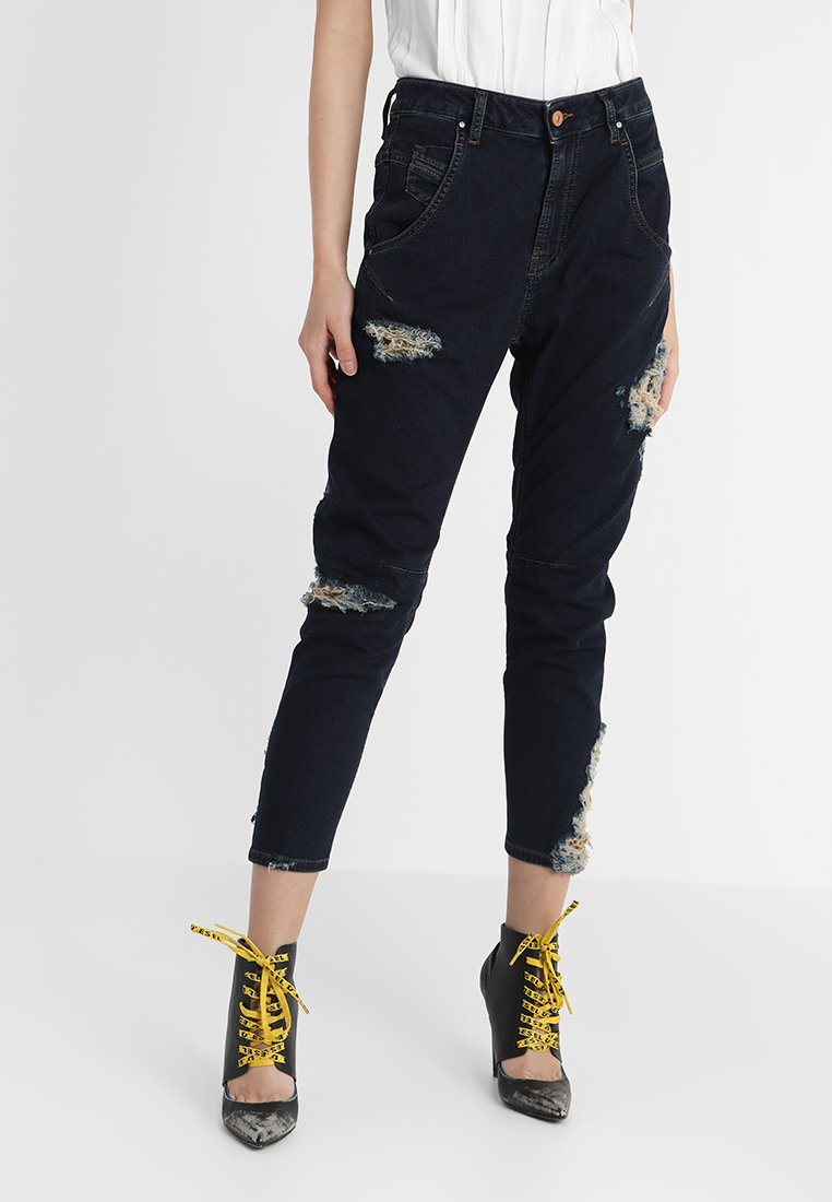 Diesel - FAYZA-NE  - Jeans Relaxed Fit - indigo