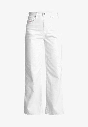 WIDEE - Jeans straight leg - white