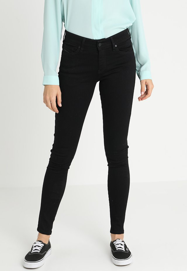 SLANDY - Jeans Skinny Fit - black denim