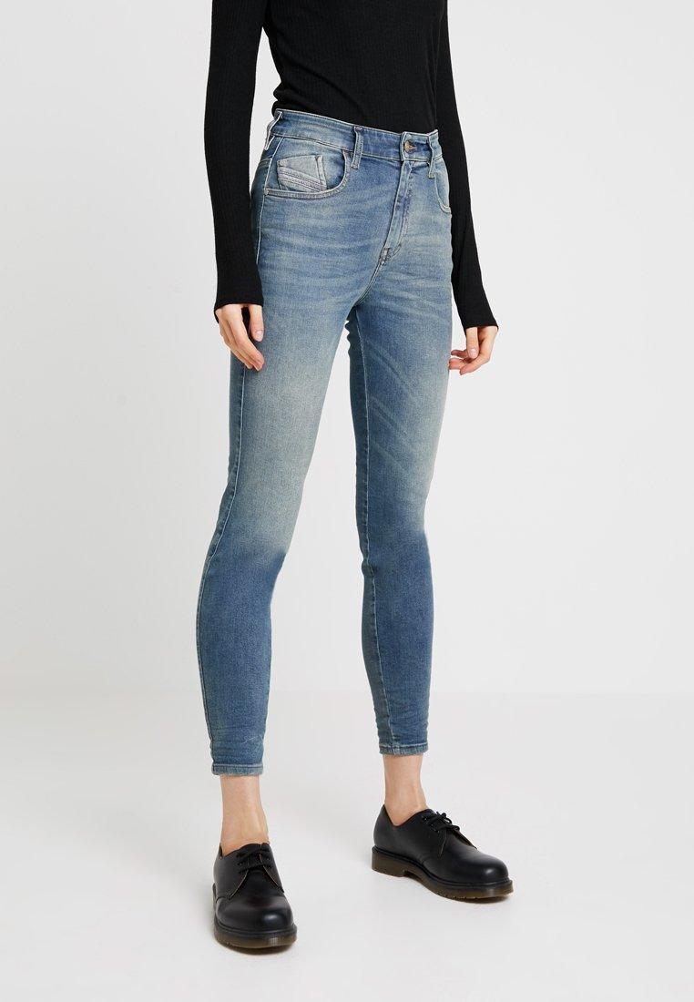 Diesel - SLANDY-HIGH - Jeans Skinny Fit - indigo