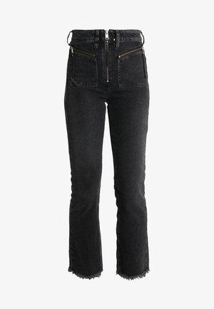 D-EARLIE - Bootcut jeans - grau