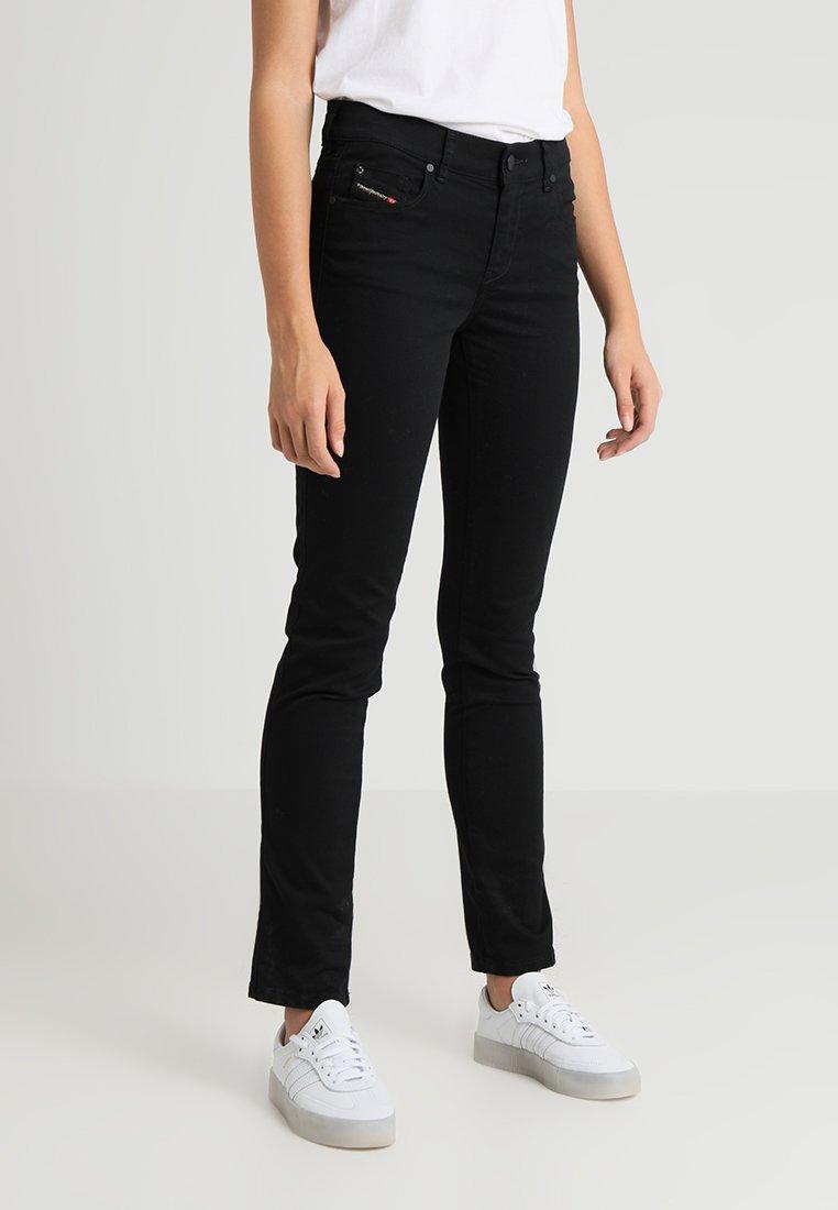 Diesel - SANDY - Jeans Straight Leg - black