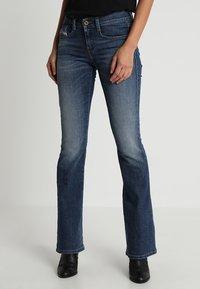 Diesel - D-EBBEY - Bootcut jeans - indigo - 0