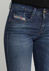 Diesel - D-EBBEY - Bootcut jeans - indigo - 3