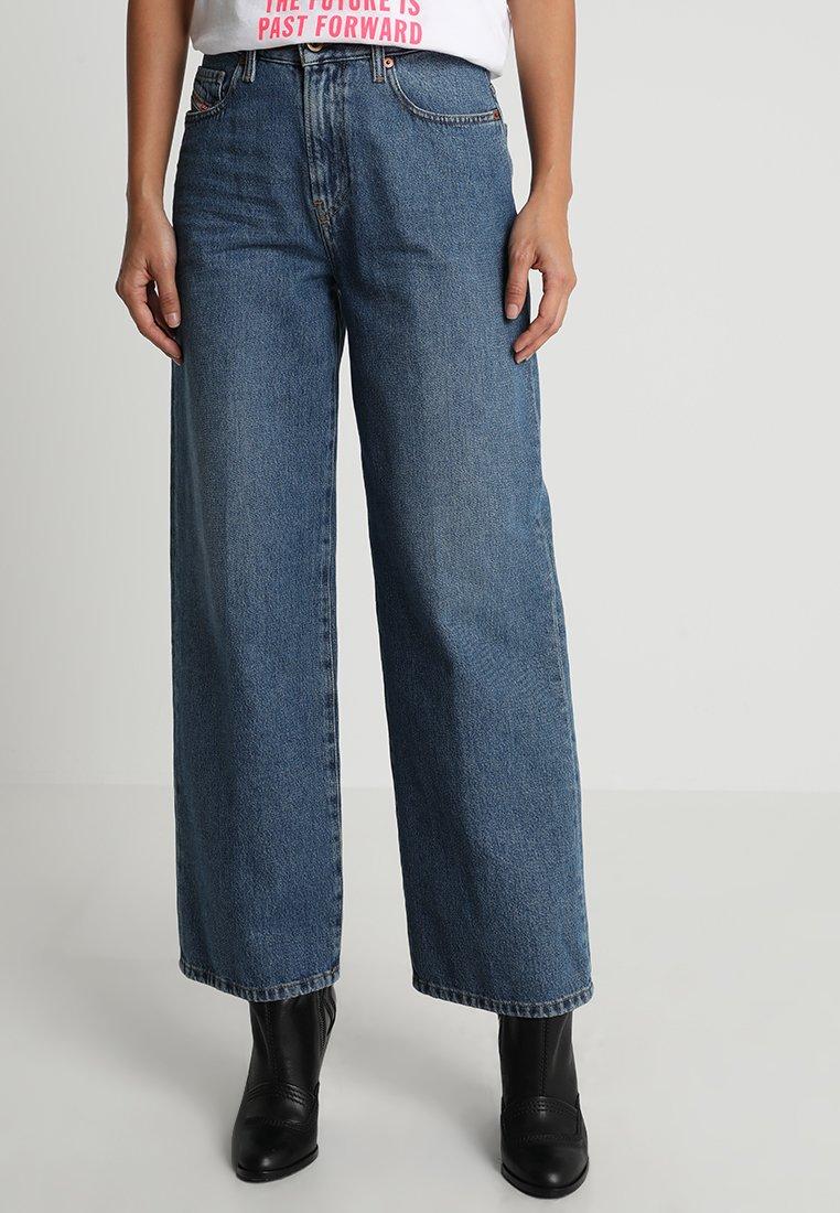 Diesel - WIDEE - Flared Jeans - indigo
