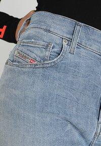 Diesel - WIDEE - Flared Jeans - indigo - 4