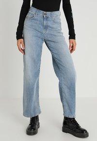Diesel - WIDEE - Flared Jeans - indigo - 0