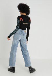 Diesel - WIDEE - Flared Jeans - indigo - 2