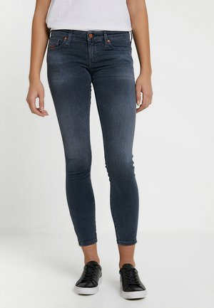 SKINZEE LOW ZIP - Skinny džíny - indigo