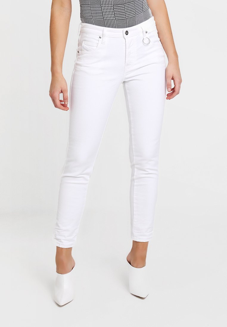 Diesel - BABHILA - Jeans Skinny Fit - bright white