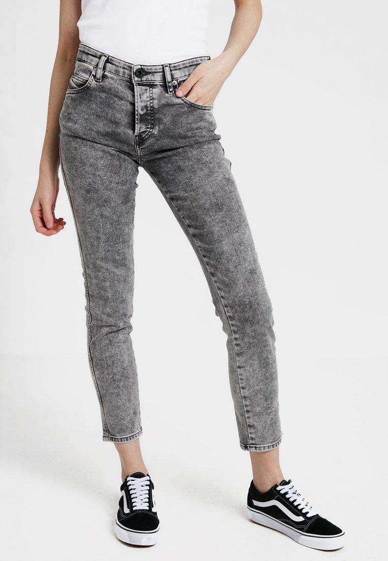 Diesel - BABHILA - Jeans Skinny Fit - anthrazit