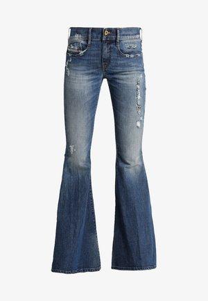 D-FERENZ - Flared Jeans - indigo