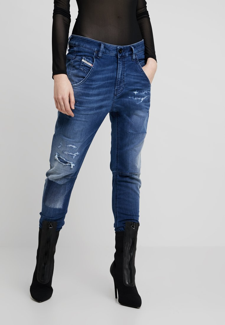 Diesel - FAYZA-NE - JOGG - Relaxed fit jeans - indigo