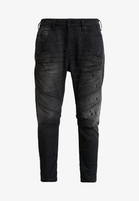 Diesel - FAYZA-NE SP - JOGG - Jeans relaxed fit - dark grey - 6