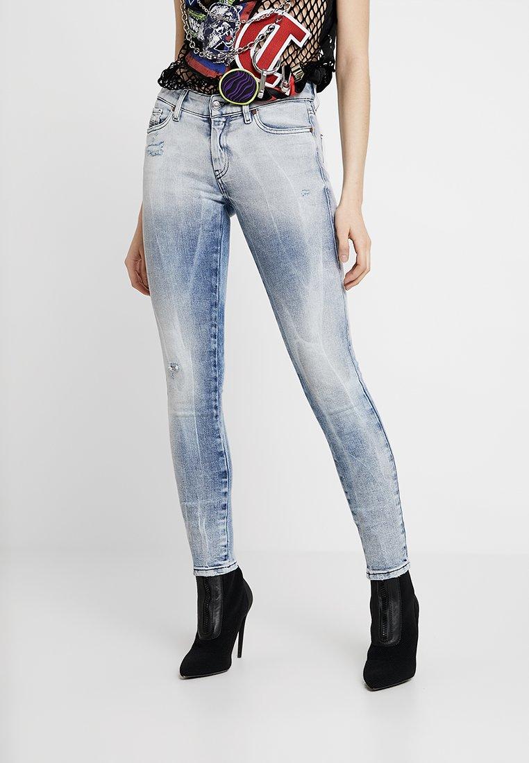 Diesel - SLANDY - Skinny džíny - indigo