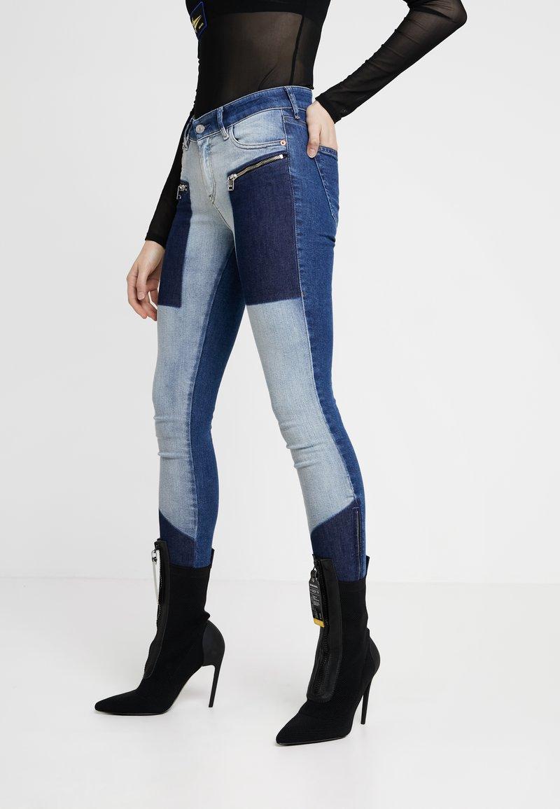 Diesel - SLANDY-ZIP-SP - Jeans Skinny Fit - indigo