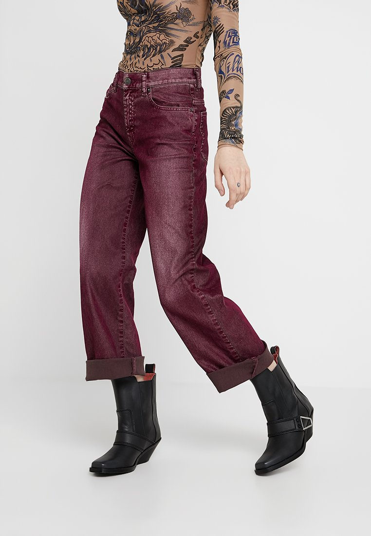 Diesel - WIDEE - Relaxed fit jeans - port royale
