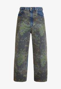 Diesel - D-LUITE-SP - Flared Jeans - indigo - 5
