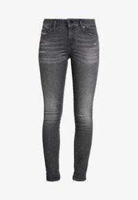 Diesel - SLANDY - Jeans Skinny Fit - black - 5