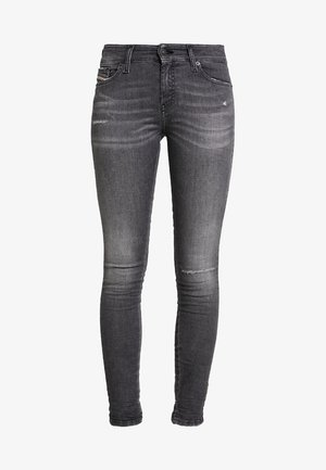 SLANDY - Skinny džíny - black