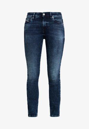 SLANDY-ZIP - Jeans Skinny Fit - indigo