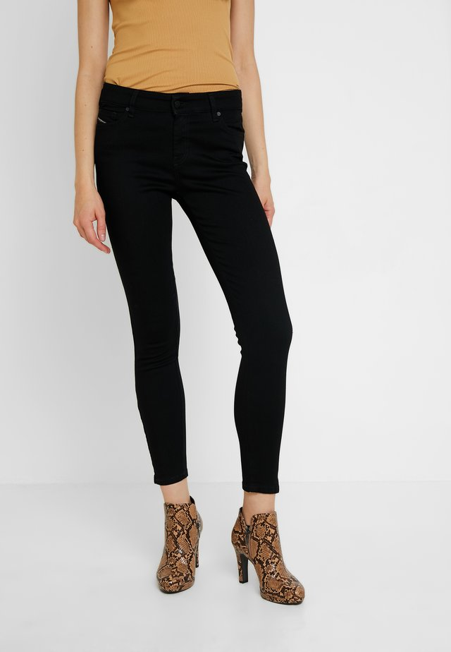 SLANDY-ZIP - Jeans Skinny Fit - black