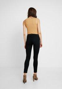 Diesel - SLANDY-ZIP - Jeans Skinny Fit - black - 2